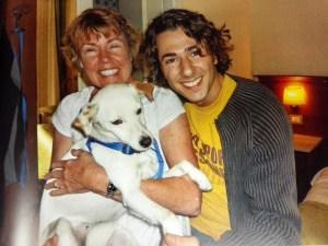 Ravello, sua mamma e Francesco Argirò (Managing director BlissPets)